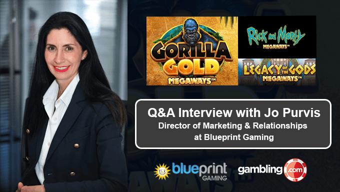 Q&A Blueprint Gaming เกมที่กำลังจะมา, Megaways Plan & More