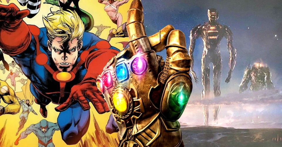 ดูหนังออนไลน์ ทฤษฎี MCU: Eternals ใช้ Infinity Stones เพื่อทำลายเซเลสเทล