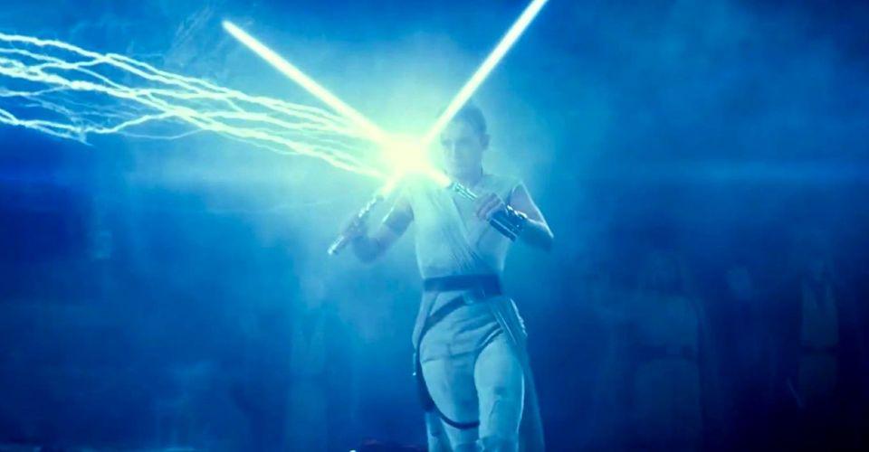 ดูหนังออนไลน์ Jedi Force Ghosts เข้าร่วมกับ Rey Against Palpatine ใน Rise of Skywalker