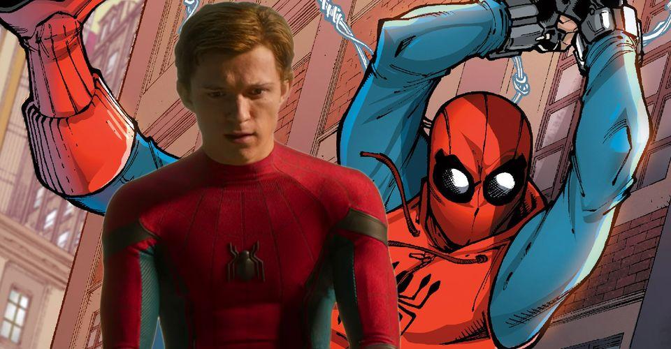 ดูหนังออนไลน์ Spider-Man: โปสเตอร์งานคืนสู่เหย้าเป็นเหล็กไหลเป็นการ์ตูนปกมหัศจรรย์