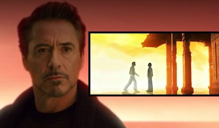 ดูหนังออนไลน์ vengers: Endgame Fan Art จินตนาการภาพ Iron Man Soul World ที่ดีกว่า