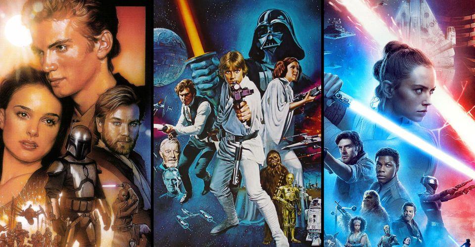 ดูหนังออนไลน์ Star Wars 'Visual Parallels จำนวนมากได้รับการเน้นในการตัดต่อวิดีโอมหากาพย์