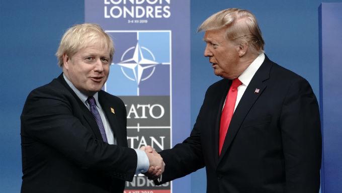 ข้อตกลงการค้า ระหว่างสหราชอาณาจักร และสหรัฐอเมริกาถือเป็นเรื่องโง่เขลาเนื่องจากข้อตกลงของสหภาพยุโรปถือ บริษัท