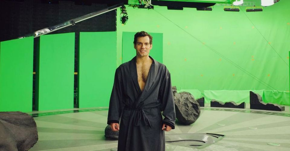 ดูหนังออนไลน์ การกลับมาของ Henry Cavill ในฐานะ Superman ที่ถูกล้อเลียนใน Justice League Set Image