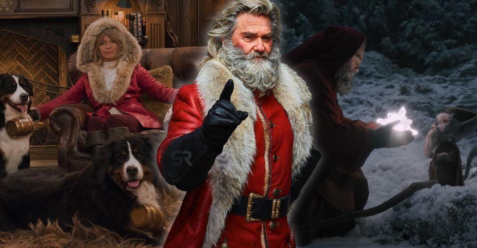 ดูหนังออนไลน์ เคิร์ทรัสเซลเขียน Backstory 200 หน้าสำหรับซานต้าใน Christmas Chronicles 2